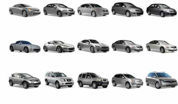 all models of nissan